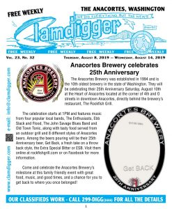 The Clamdigger | Printed Weekly Publication in Anacortes, WA